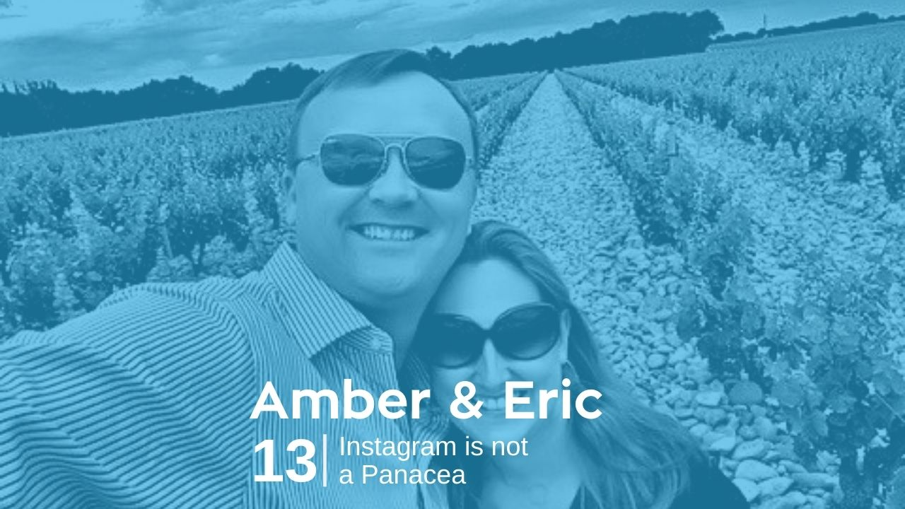 Amber & Eric Hoffman – Instagram is not a Panacea