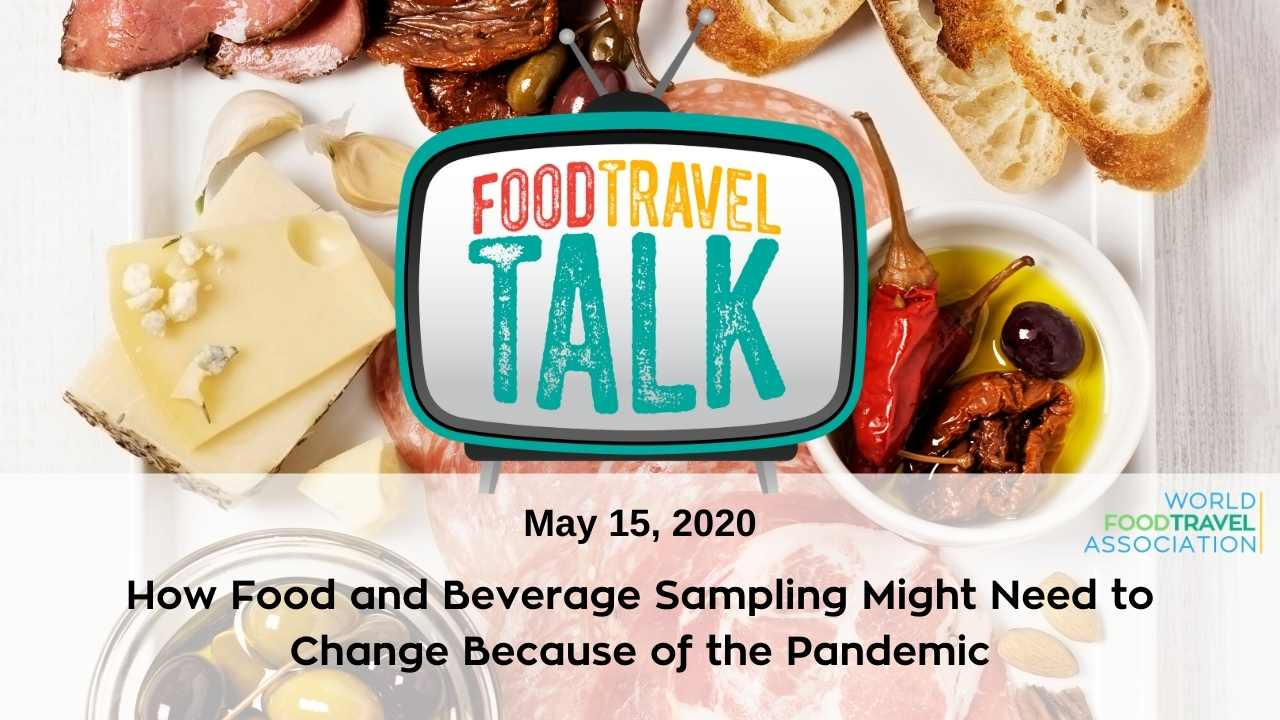 Join us for Food Travel Talk TV May 15