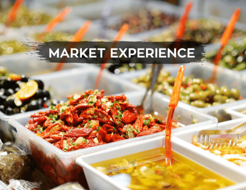 Food Tourism-Market Experience
