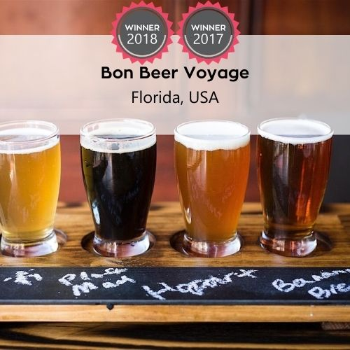 FoodTrekking Awards Winners Bon Beer Voyage
