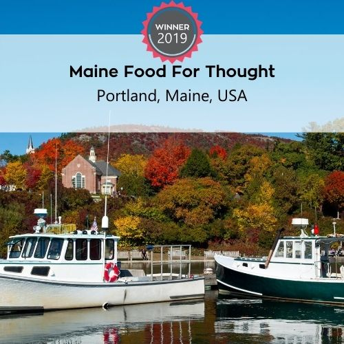 FoodTrekking Awards Winners Maine Food for Thought