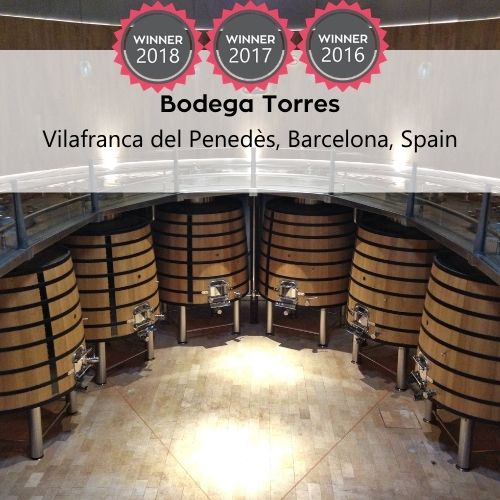 Bodega Torres FoodTrekking Awards Winner