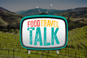 Food travel talk TV banner