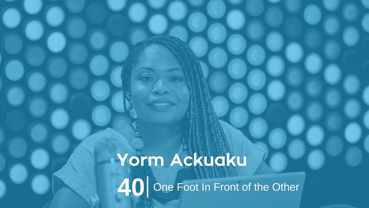 Yorm Ackuaku – One Foot In Front of the Other