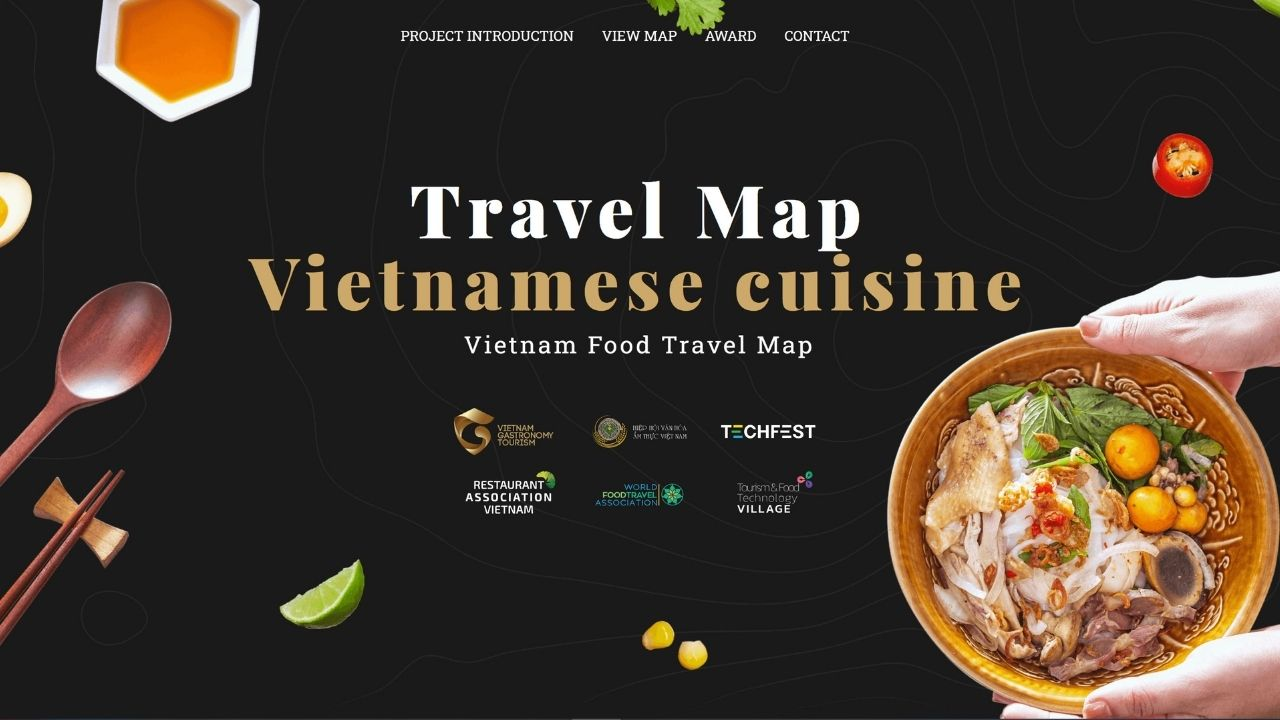 Vietnam Rocks #WorldFoodTravelDay With New Food Map