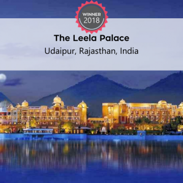 FoodTrekking Awards Winners the leela palace